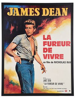 James Dean La Fureur De Vivre Movie Poster