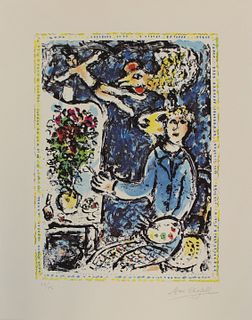 MARC CHAGALL (FRENCH, 1887-1985).