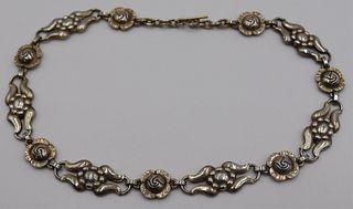 JEWELRY. Georg Jensen Danish Sterling Necklace #10