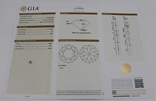 JEWELRY. GIA 1.21ct Circular Brilliant, 2215248663