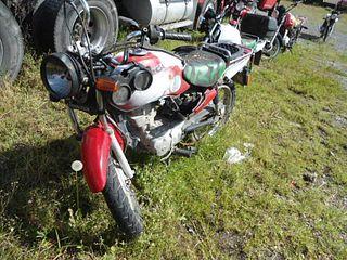 Motocicleta Honda Cargo 125 2011