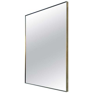 Unique & Stylish Wall Mirror with Solid Brass Frame