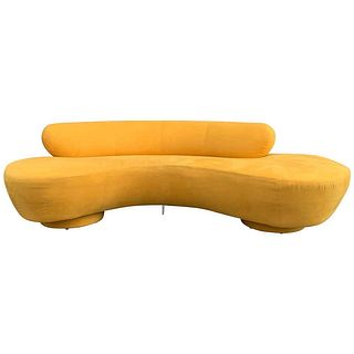 Vintage Vladimir Kagan for Directional, Serpentine Sofa
