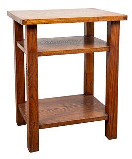 Roycroft Arts & Crafts Oak Table