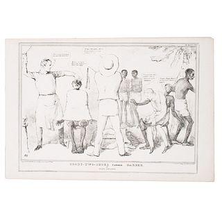 [SLAVERY & ABOLITION]. DOYLE, John (1797-1868). 2 Lithographs, comprising: