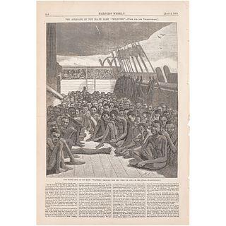 [SLAVERY & ABOLITION]. Harper's Weekly. Vol. IV, No. 179. New York: 2 June 1860.