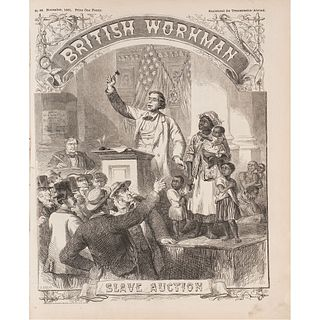 [SLAVERY & ABOLITION]. The British Workman. 12 issues (complete year run). Nos. 73-84. London: January - December 1861.