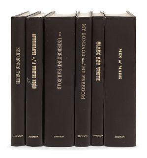 [KERNER, Otto, his copies] -- [EBONY CLASSICS]. Chicago: Johnson Publishing, 1970. A group of six volumes, comprising: