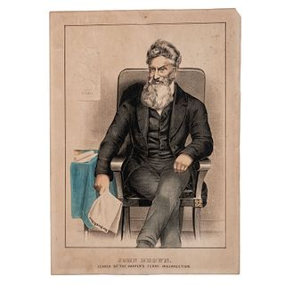 [BROWN, John (1800-1859)]. CURRIER and IVES, publishers.