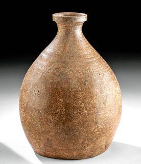 Korean Goryeo / Koryo Celadon Ware Bottle