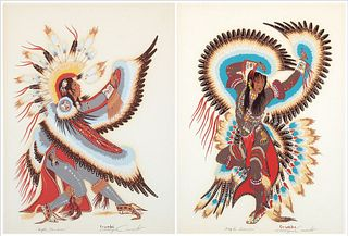 Woody Crumbo, Eagle Dancer #1, #2