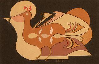Gerónima Cruz Montoya [Po-tsunu], Untitled (Bird), 1963