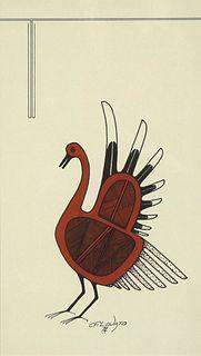 Charles Lovato, Untitled (Bird), 1972