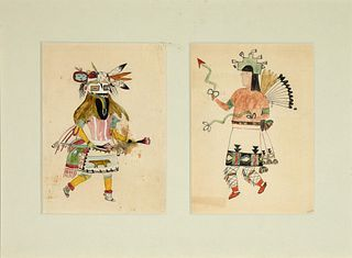 Unknown, Untitled (Two Kachina Dancers)