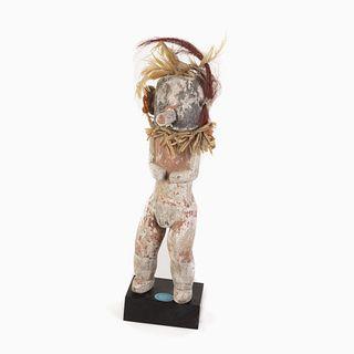 A Hopi Sio Avachhoya [Corn Dancer] Kachina, ca. 1920-1940