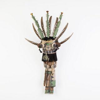Hopi, Kevin Sekakuku, Prickly Pear Kachina, ca. 2006