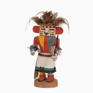 A Hopi Hololo Kachina, ca. 1945-1955