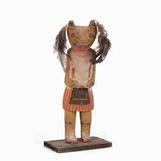 A Hopi Wolf Kachina, ca. 1920