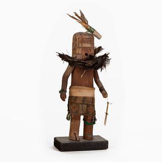 A Zuni Sipikne or Salimopaiyakya [Warrior] Kachina, ca. 1940