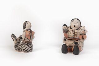 Cochiti, Ivan Lewis, Two Figures