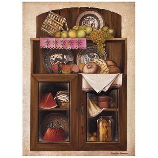 "ALEJANDRO CAMARENA, Untitled, Signed, Oil on canvas, 31.8 x 23.6"" (81 x 60 cm)"