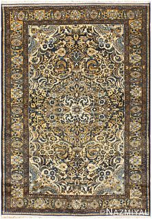 ANTIQUE MALAYER PERSIAN CARPET 4 ft 10 in x 7 ft