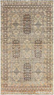 ANTIQUE PERSIAN TEHRAN RUG, 7 ft 7 in x 4 ft 4 in