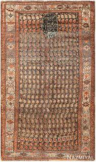ANTIQUE GHASHGAI PERSIAN RUG, 7 ft 9 in x 4 ft 5 in