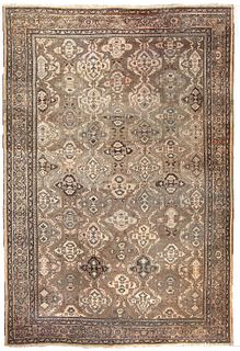 ANTIQUE PERSIAN SULTANABAD AREA RUG, 20 ft 7 in x 14 ft