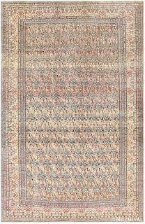 ANTIQUE PERSIAN TEHRAN CARPET, 15 ft 4 in x 9 ft 10 in