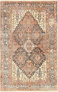 ANTIQUE BAKHTIARI PERSIAN CARPET 18 ft 8 in x 11 ft 4in