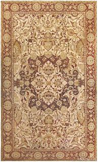 ANTIQUE INDIAN AMRITSAR CARPET, 17 ft 6in x 10 ft 10in