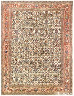 ANTIQUE PERSIAN SULTANABAD CARPET, 10 ft 7 in x 8 ft