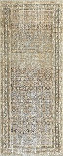 ANTIQUE PERSIAN SHABBY CHIC MALAYER 16ft 4in x 6ft 8in