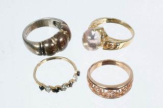 (4) LADY'S RINGS