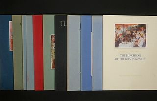 (24) ART/ARCH BOOKS THAT BELONGED TO DAVID W. SCOTT, FOUNDING DIRECTOR OF THE NATIONAL MUSEUM OF ART, SMITHSONIAN