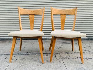 Pair of Heywood Wakefield Side Chairs