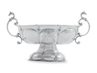 A Dutch Silver Sugar Bowl