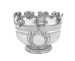 An English Silver Monteith