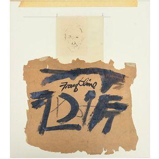 Franz Kline (attrib.), drawings