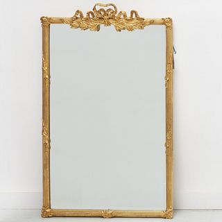 Carver's Guild Neoclassic style giltwood mirror