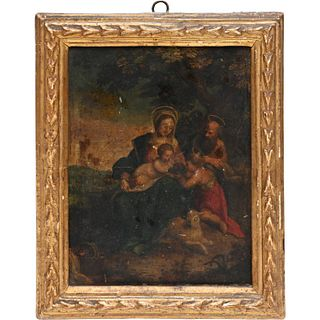 Italian School, devotional painting