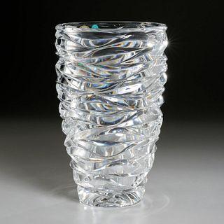 Emil Brost for Tiffany & Co., crystal vase