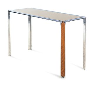 Style of Milo Baughman  20th/21st Century Console Table