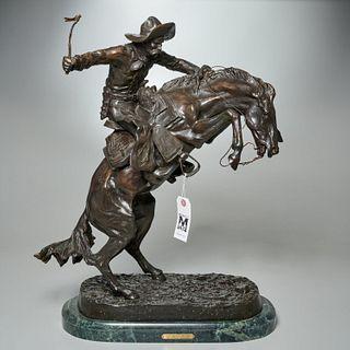 Frederick Remington (after), bronze