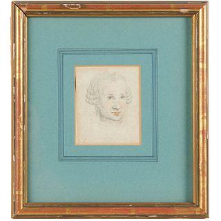 Aug. de Saint-Aubin, drawing, ex. Fairfax Murray