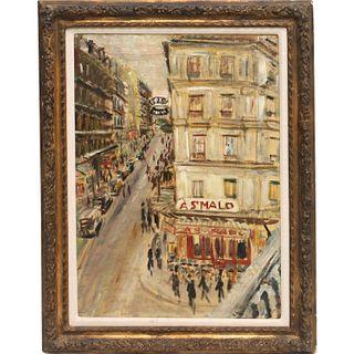 Robert Liebknecht , painting, 1937