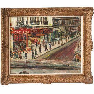 Robert Liebknecht, Impressionist painting