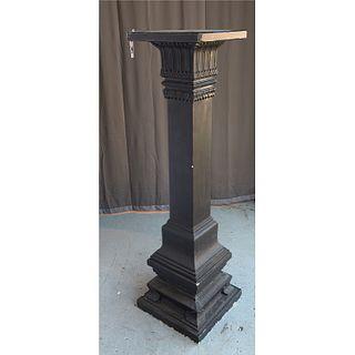 Large cement architectural column pedestal