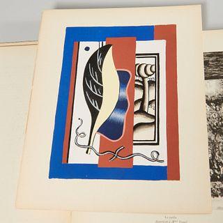 Teriade, Fernand Leger, with 5 pochoirs, #550/800